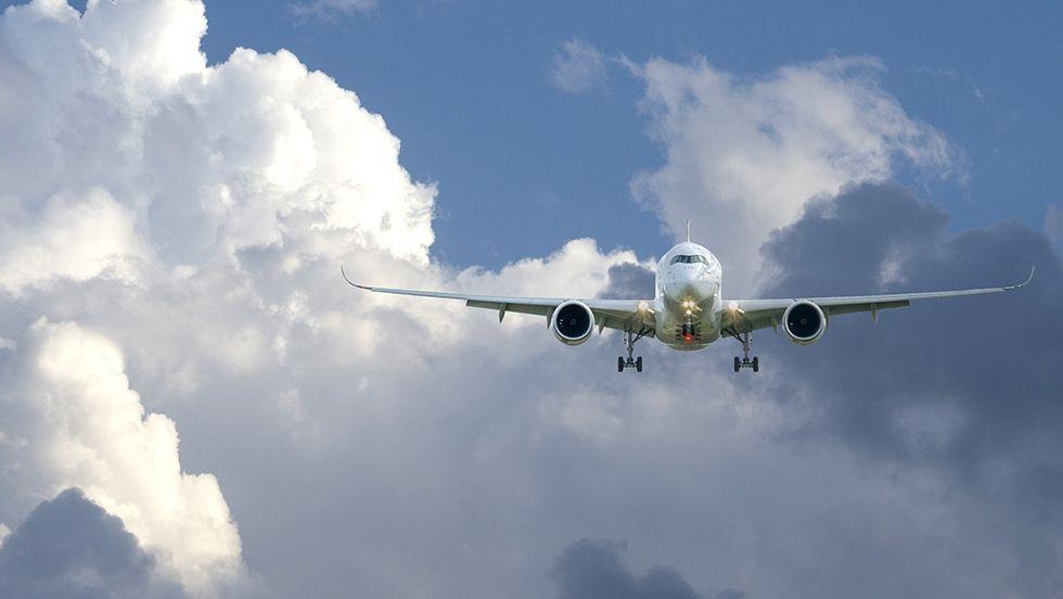 Infographie - Transport aérien mondial