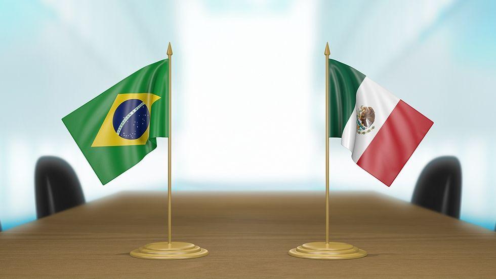 Brésil et Mexique – Que perçoivent et que disent les banques centrales ?