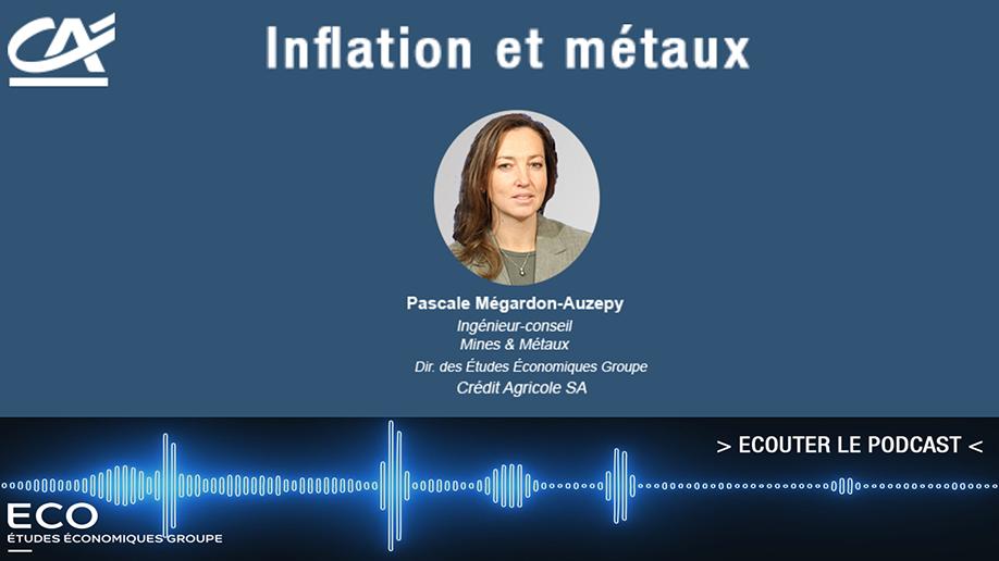Inflation et métaux
